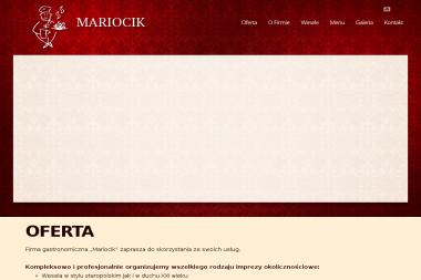 Centrum Cateringowo-Bankietowe MARIOCIK - Catering świąteczny Elbląg