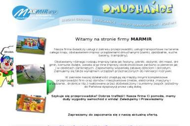 FU Marmir. Zabawki, transport - Firma transportowa Morąg