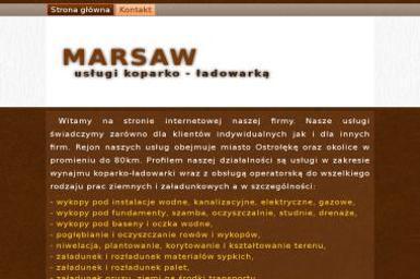 Marsaw. Usługi Koparko-Ładowarką - Odśnieżanie dachów Ostrołęka