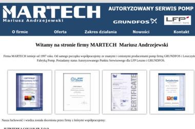 Martech Mariusz Andrzejewski - Ślusarz Godziesze Wielkie