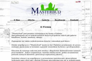 Masterbud - Elewacja Domu Parterowego Kalisz
