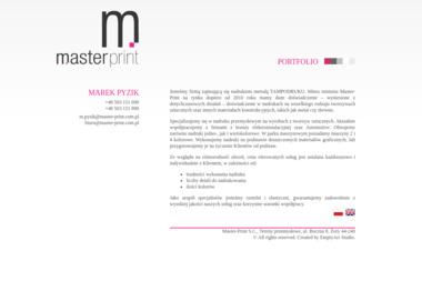 Master-Print s.c. Tampodruk, znakowanie - Drukarnie etykiet Żory