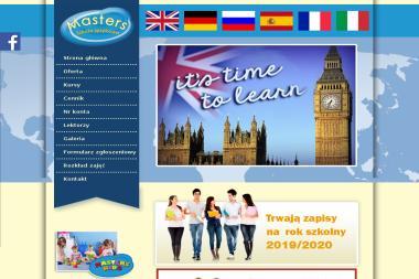 Masters Szkoła Językowa - Język Angielski Grójec