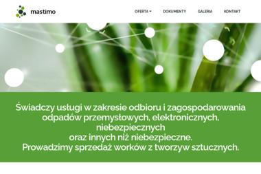 Firma Handlowa Mast Mateusz Mastej - Strony internetowe Jasło