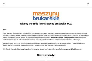 PHU Maszyny Brukarskie M L Maciej Lusina - Malarz Słocin