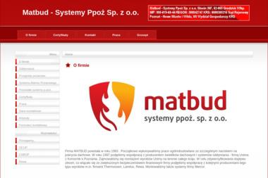 Matbud Systemy Oddymiania - Stolarz Grodzisk Wielkopolski
