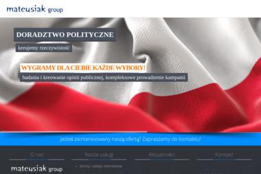 Mateusiak Group - Kompleksowa Obsługa Firm - Wizytówki na Zamówienie Kłodzko