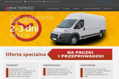 Matspeed - Firma Przewozowa Gorzów Śląski