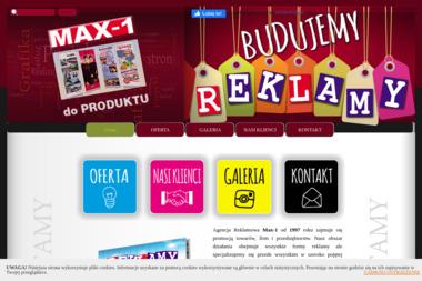 Max-1 Agencja Reklamowa S.C. Jacek Kubiak Mieczysława Trzęsowska - Wydruk Katalogów Kalisz