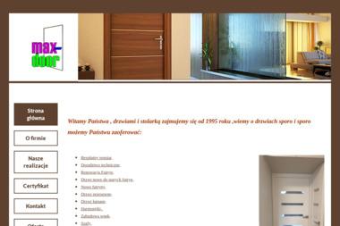 Centrum Renowacji Drzwi i Futryn Max Door - Okna Wejherowo