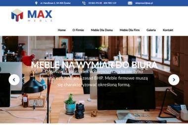 FHU Max Studio Kuchenne - Architekt wnętrz Żywiec