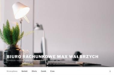 """BIURO RACHUNKOWE """"MAX"""" - Firma audytorska Wałbrzych"""