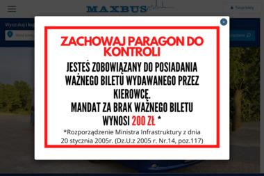 Pietrucha Bogumił 1 Transport Towarowo Osobowy Maxbus 2 Firma Handlowo Usługowa Ato Max - Przewóz osób Pisarzowa
