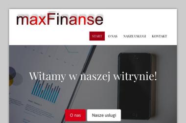 Maxfinanse Sp. z o.o. - Usługi Księgowe Olecko