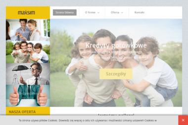 Maxsim - Kredyt dla firm Kartuzy