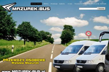 Przewozy Osobowe Wiesław Mazurek. Busy - Firma transportowa Łaszczów