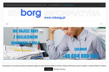 M-Borg Informatyka - Pogotowie Komputerowe Syrynia