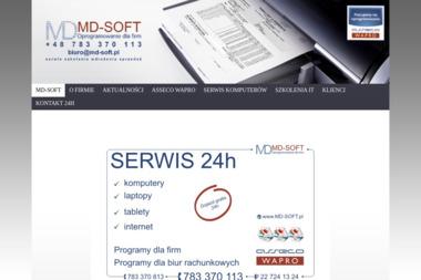 MD-Soft Oprogramowanie dla Firm - Edukacja Online Grodzisk Mazowiecki