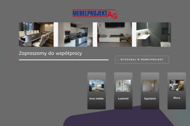 Mebelprojekt AG. Meble, producent mebli - Projektowanie wnętrz Wyry