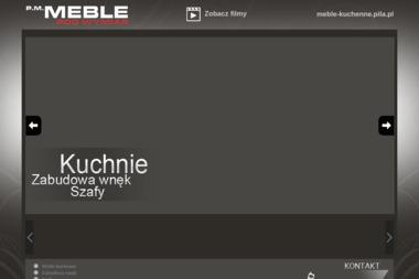 p.m.meble, meble kuchenne, meble biurowe - Projektowanie wnętrz Piła