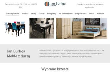 Stolarstwo Tapicerstwo Jan Burliga - Stolarz Budzów