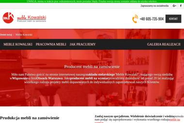 Produkcja i Sprzedaż Mebli Kuchennych Robert Kowalski - Okna PCV Duchnów