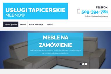 Usługi Tapicerskie-Zbigniew Nowicki - Tapicer Luzino