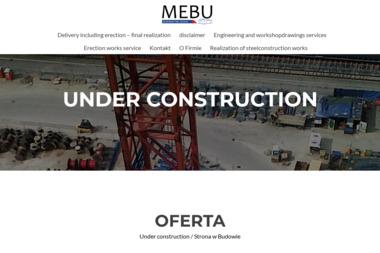 MEBU Sp. z o.o. - Firma Budująca Domy Tarnobrzeg