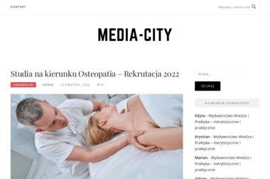Media City. Banery, druk wielkoformatowy - Fotografowanie Lublin