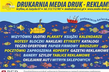 Drukarnia Reklama Media Druk - Ulotki Gryfino