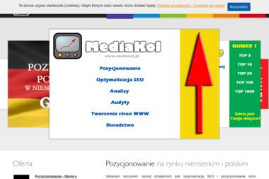 Mediakol. Tworzenie stron www, - SEO Katowice