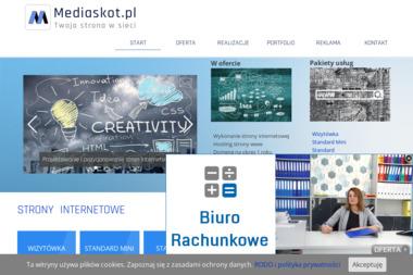 Mediaskot.pl. Strony internetowe, pozycjonowanie, strony www - Agencja interaktywna Lubań