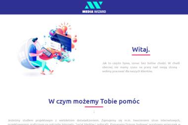 Media Wizard Jakub Kędzierski. Agencja reklamowa, tworzenie stron internetowych, projektowanie - Projektowanie Wizytówek Legnica