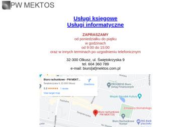 PW Mektos - Biuro rachunkowe Olkusz
