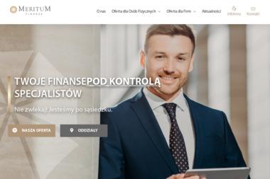 Kancelaria Usług Finansowych Meritum Sp. z o.o. - Ubezpieczenia grupowe Rzeszów