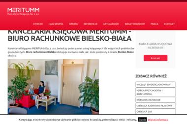 Kancelaria Księgowo-Podatkowa Meritum s.c. Marta Czajowska-Wawak, Renata Szteklińska. - Biuro rachunkowe Bielsko-Biała