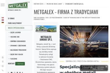 ZPH Metgalex S.J. - Us艂ugi Tokarskie Wrze艣nia