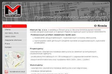 Metrum Sp. z o.o. - Pogotowie Elektryczne Żory