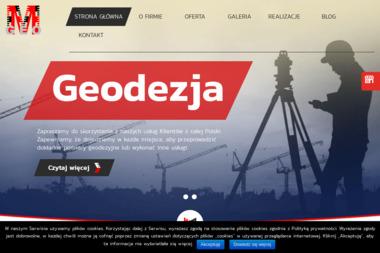 M-Geo. Usługi Geodezyjne. Mateusz Wójcik - Geodeta Dąbrowa Górnicza
