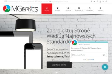 MGraphics. Strony internetowe, ulotki - Ulotki Częstochowa