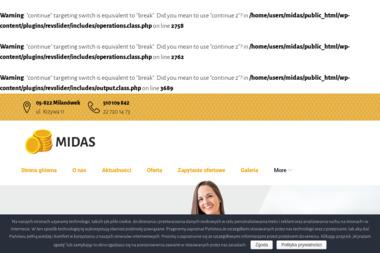 Biuro Rachunkowo-Podatkowe Midas - Biuro Rachunkowe Milanówek