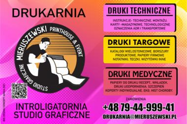 Drukarnia Mieruszewski. Borys Mieruszewski - Druk katalogów i folderów Bydgoszcz