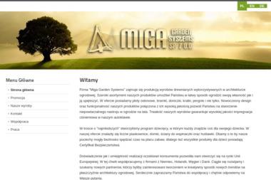 Miga Garden Systems Sp. z o.o. - Stolarz Bojadła