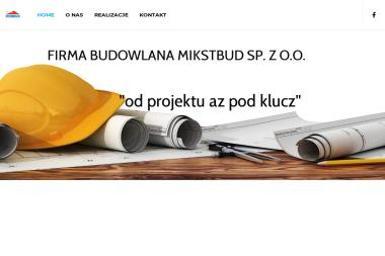 """FIRMA BUDOWLANA """"MIKSTBUD"""" SP. Z O.O. - Domy murowane Mikstat"""