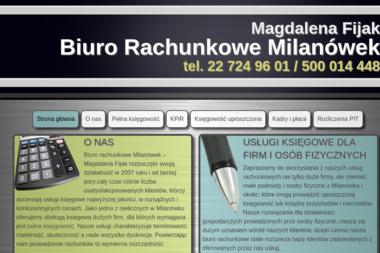 Biuro Rachunkowe Magdalena Fijak - Biuro Rachunkowe Milanówek