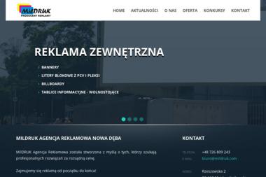 Mildruk Agencja Reklamowa - Drukarnia Majdan Królewski