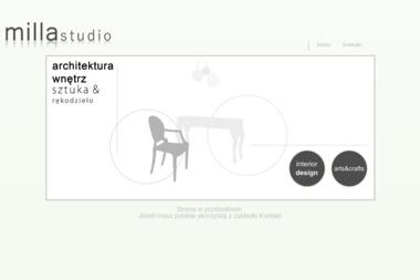 Milla Studio Magdalena Hill Belhaouane - Architektura Wnętrz Mielec