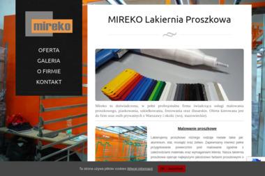 Mireko - Konstrukcje Stalowe Cząstków Polski