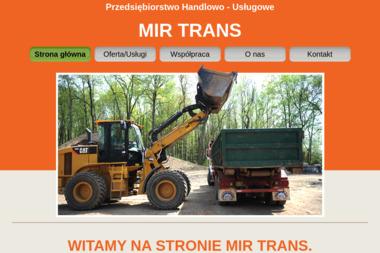 PHU Mir Trans Mirosław Jasek - Ekogroszek Lipowa