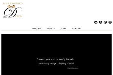 Miss Babienko Design Marta Babienko - Projektowanie wnętrz Głuchołazy